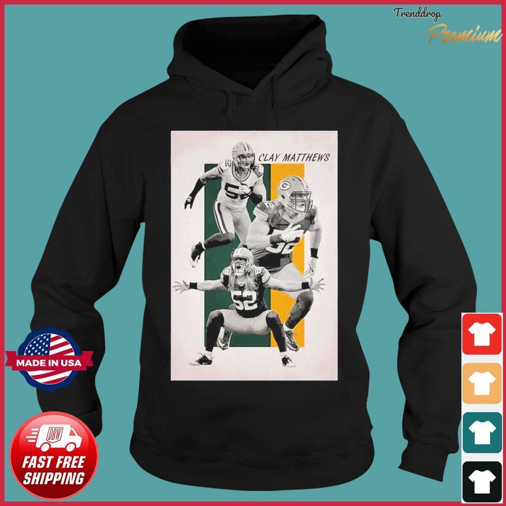 52 Clay Matthew Green Bay Packers Shirt Hoodie
