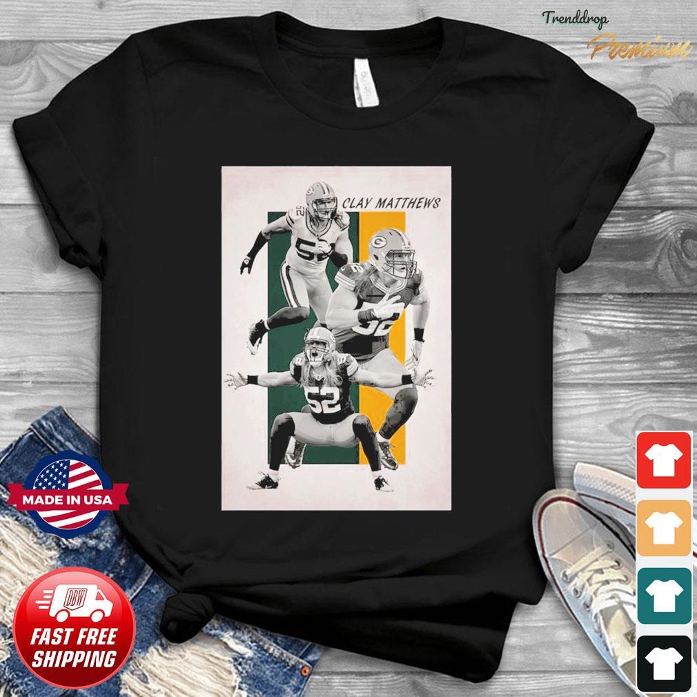 52 Clay Matthew Green Bay Packers Shirt