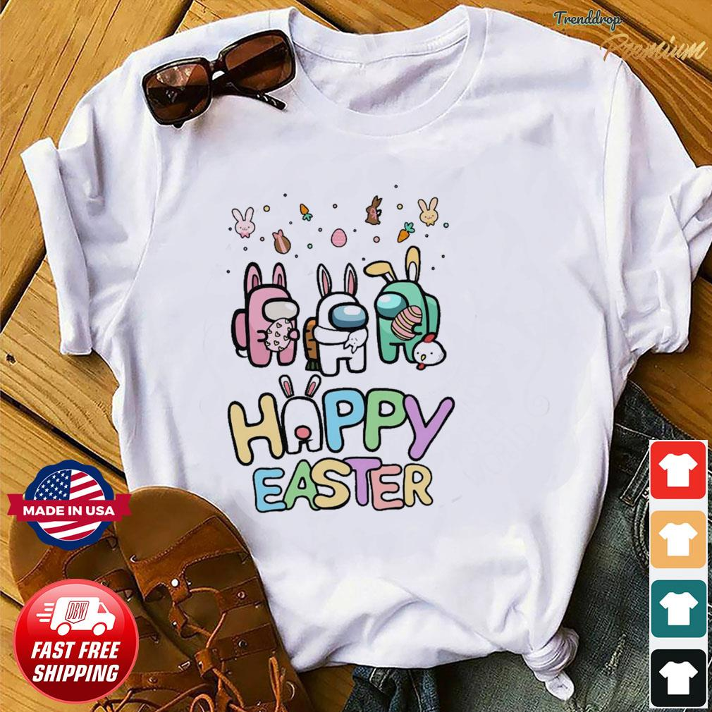 Cute Among Us Happy Easter Shirt