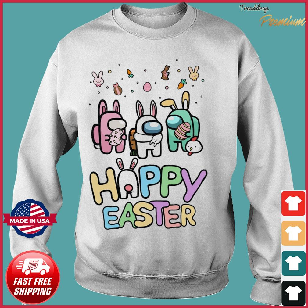 Cute Among Us Happy Easter Shirt Sweater