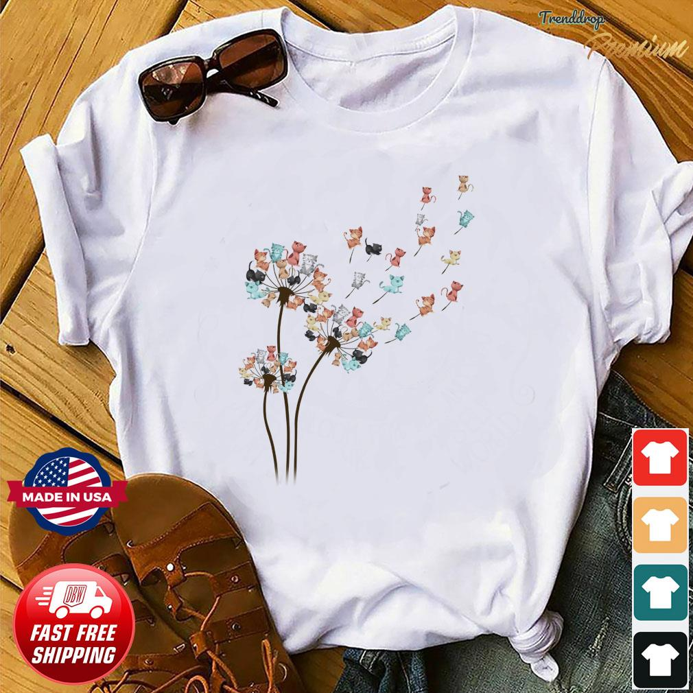 Dandelion Cats Flower Shirt