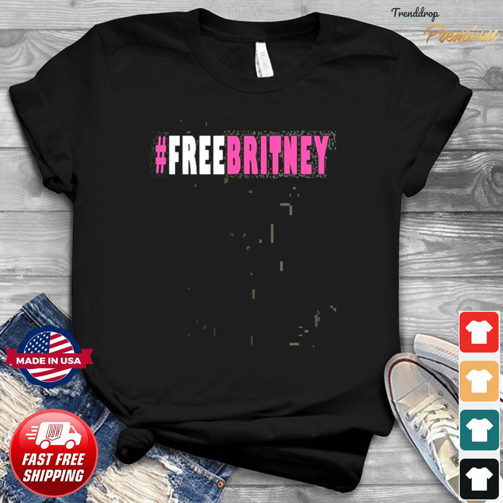 Official Free Britney Hashtag T-Shirt
