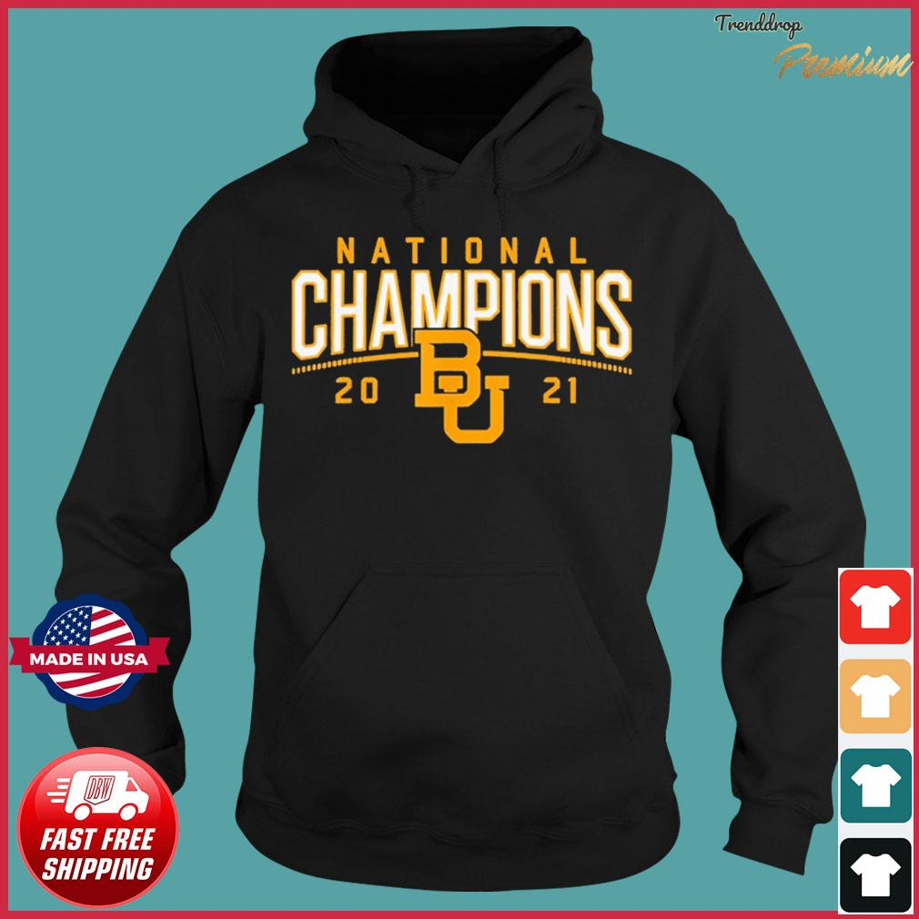 Baylor Bears National Championship 2021 Shirt Hoodie