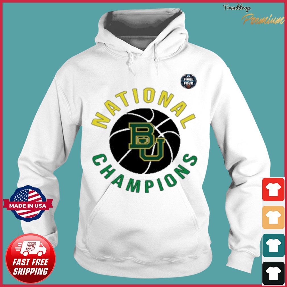 Baylor National Champions BU 2021 T-Shirt Hoodie