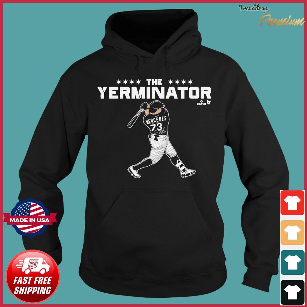 MLBPA Officially Licensed Yermin Mercedes Terminator T-Shirt Hoodie