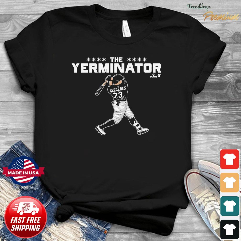 MLBPA Officially Licensed Yermin Mercedes Terminator T-Shirt