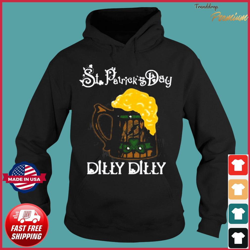 NHL Tampa Bay Lightning St Patrick's Day Dilly Dilly Beer Hockey Sports T-Shirt Hoodie