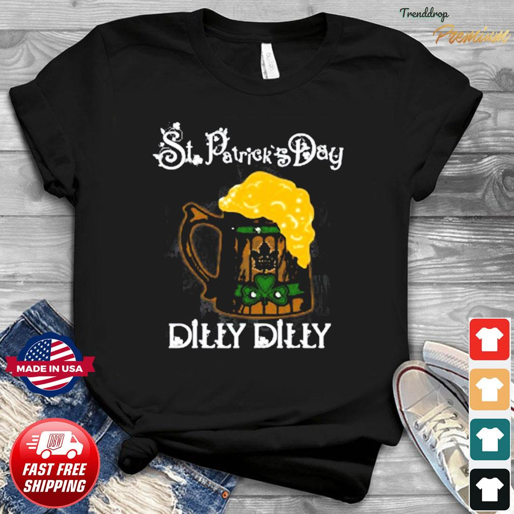 NHL Toronto Maple Leafs St Patrick's Day Dilly Dilly Beer Hockey Sports T-Shirt