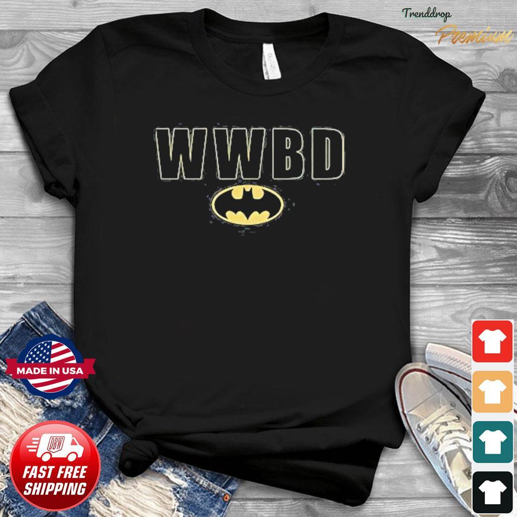 Official Batman Wwbd Logo Shirt