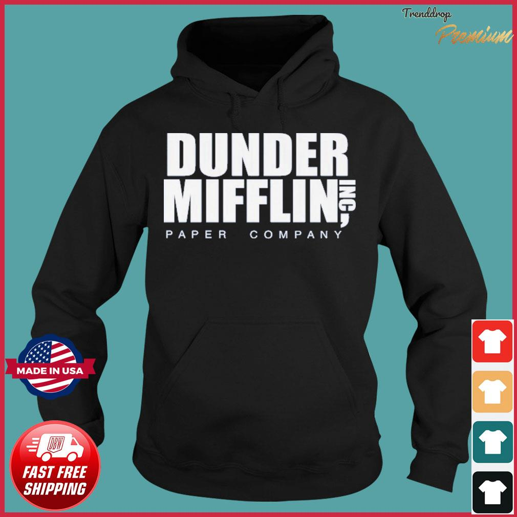 The Office Dunder Mifflin Paper Company Shirt Hoodie