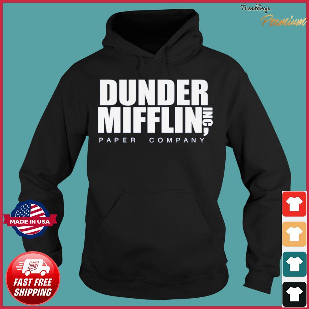 The Office Dunder Mifflin Paper Company Shirt Hoodie
