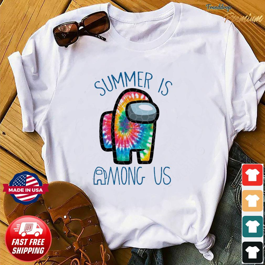 Official Summer Is Among Us - Among Us Impostor Art Color Shirt