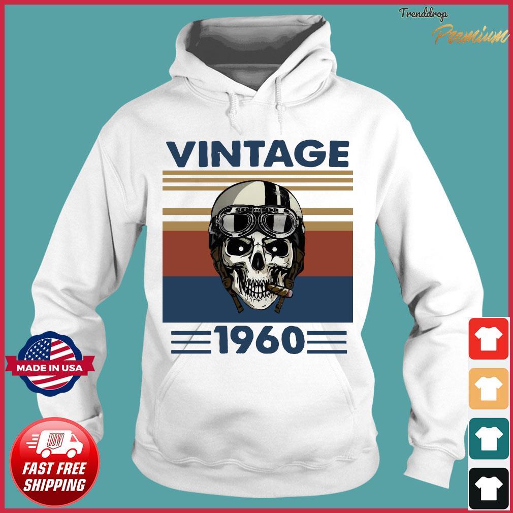 Offcial Skull Pilot 1960 vintage s Hoodie