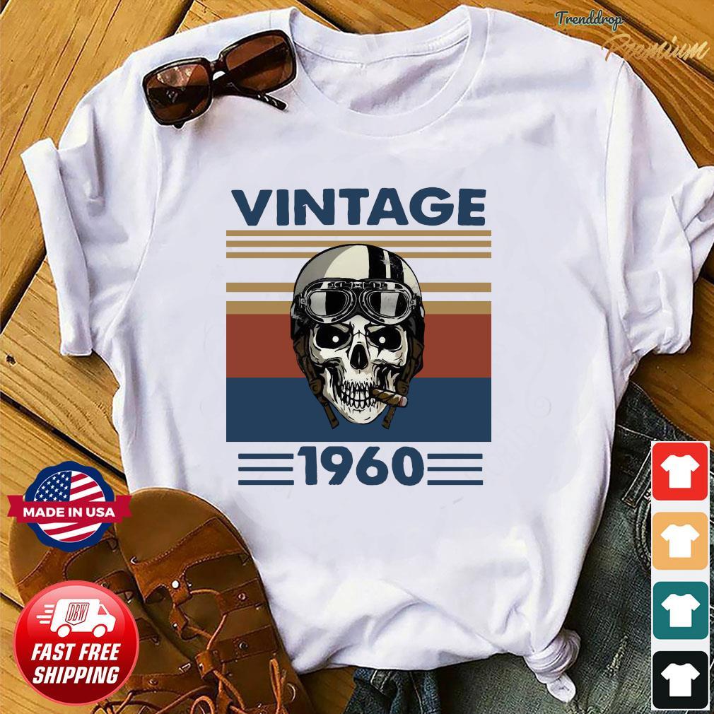 Offcial Skull Pilot 1960 vintage shirt