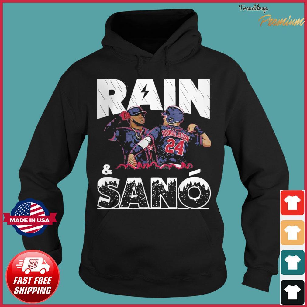 Rain Sanó Minnesota Baseball Shirt Hoodie