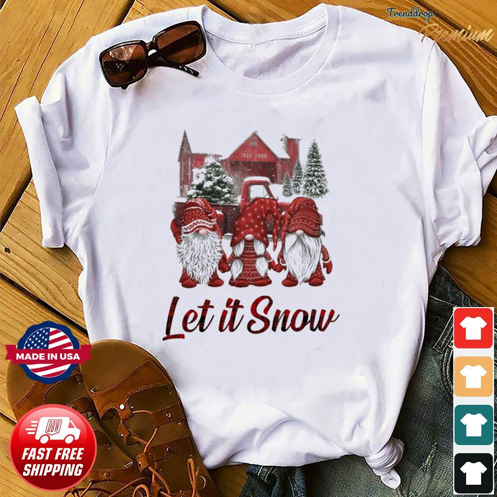 Gnomes Let It Snow Christmas Sweatshirt