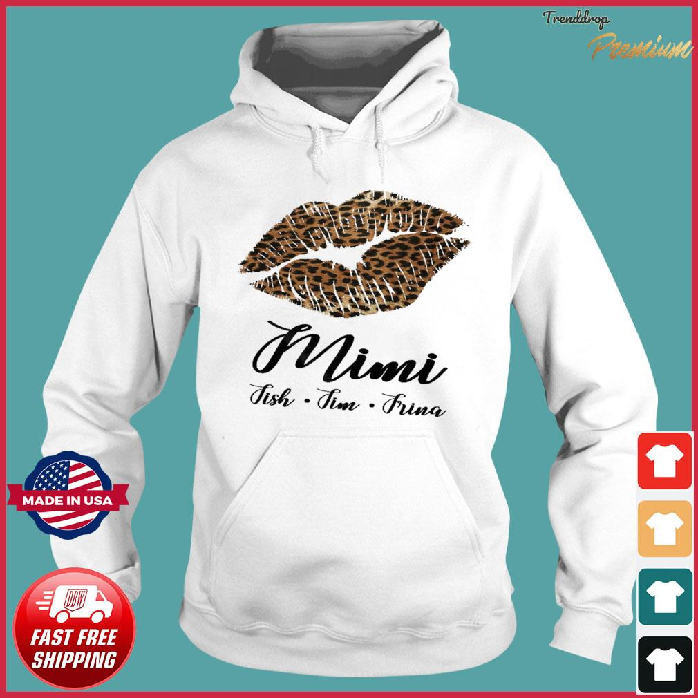 Lips Mini Fish Fim Frima Shirt Hoodie