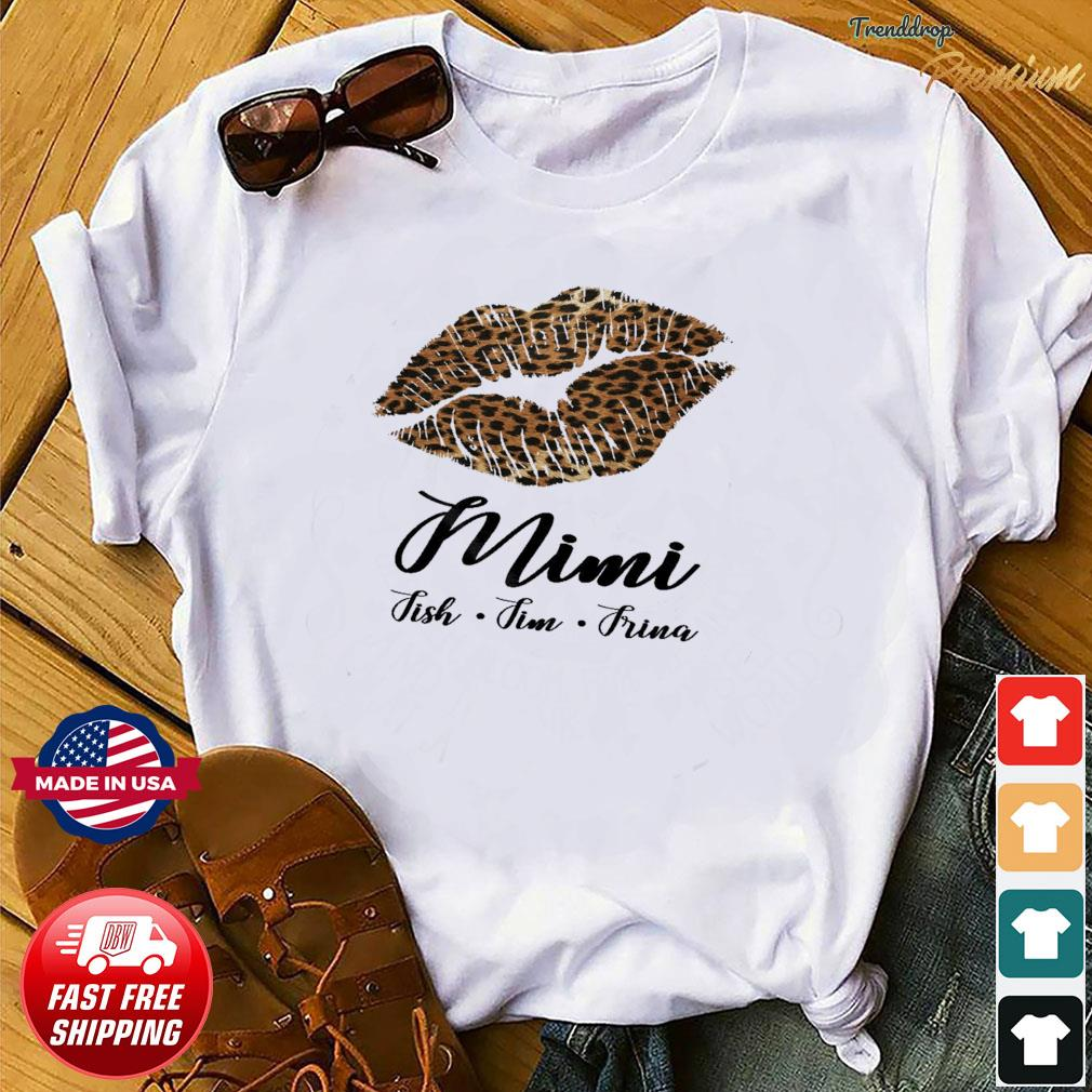 Lips Mini Fish Fim Frima Shirt