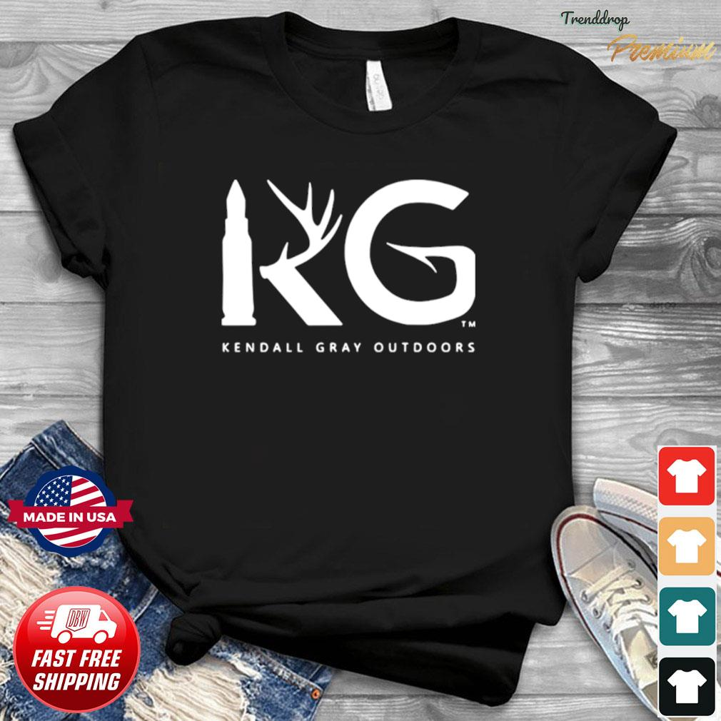 Kendall Gray Outdoors Merch Kg Shirt Hoodie Sweater Long Sleeve And Tank Top